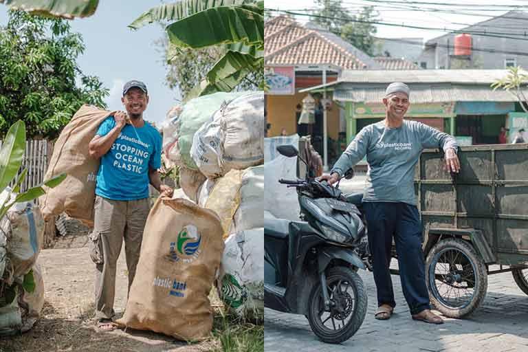 Kolektor Plastic Bank Indonesia
