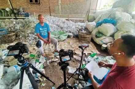 Wawancara Kolektor Plastic Bank